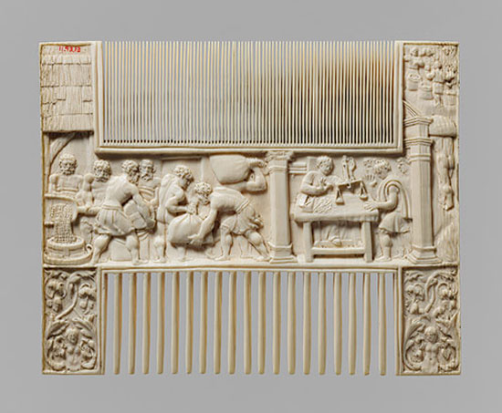 Double Comb: Scenes from the Story of Joseph, mid-sixteenth century. Ivory, probably of flemish origin. ~e-flux