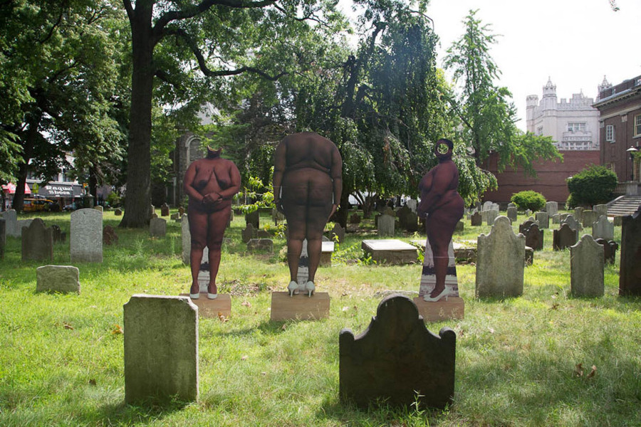 """From My Body I Will Make Monuments In Your Honor,"" Pre-revolutionary Cemetery, Brooklyn. ~HuffPost"